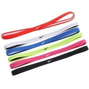 Nike Accessories - 6 Pack NIKE Jacquard Hairbands